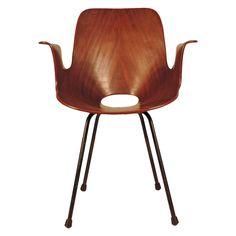 Splendid Medea Desk Chair by Vittorio Nobili