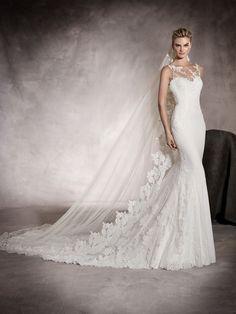 PRUNELLE - Wedding dress with sweetheart neckline