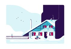 Hors Pistes illos on Behance