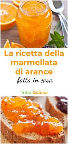 La #marmellata fatta in casa è decisamente più sana rispetto a quella industriale: siamo noi a poter scegliere quanto zucchero mettere, e quanta frutta. Seguite la nostra ricetta di #marmellataallarancia  e potrete finalmente preparare delle #crostate con la vostra #marmellata di #arance  #tribugolosa #gourmettribe #golosiditalia #cucina #cucinaitaliana #cucinare #italianrecipes #food #italianfood #foodstyling #yummy #foodlover #ricette #recipe #homemade #delicious #ricettefacili Chutneys, Can Jam, Cooking Recipes, Healthy Recipes, Sweet And Salty, Biscotti, Preserves, Cantaloupe, Food And Drink