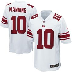 Eli Manning New York Giants Nike Game Jersey - White ed5cfcb2b