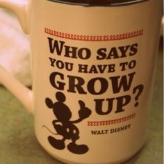 Never gonna grow up