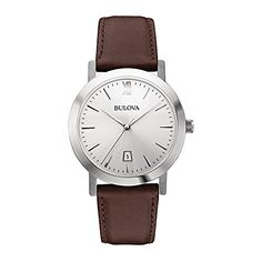 Bulova Unisex 96B217 Stainless Steel Watch with Brown Leather Band https://www.carrywatches.com/product/bulova-unisex-96b217-stainless-steel-watch-with-brown-leather-band/ Bulova Unisex 96B217 Stainless Steel Watch with Brown Leather Band  #bulova-bulovawatch-bulovawatches-#bulovawatch-#bulovawatches #men #menswatches #vintagebulovawatches