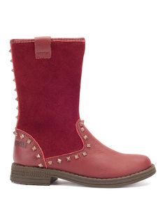 Take a look at this Umi Red Abbie Boot on zulily today!