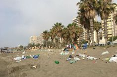 MALAGA beaches were