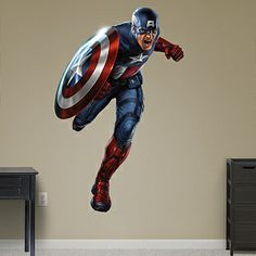 Captain America: The First Avenger Fathead Wall Decal
