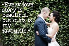Romantic quotes for weddings © bluelightsphotography.co.uk
