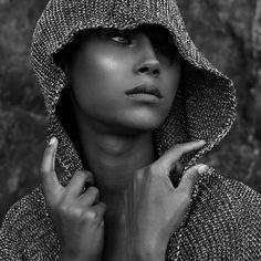 """The soul that sees beauty may sometimes walk alone.""  Johann Wolfgang von Goethe  Art x @oreeeo Model @audrerosee"