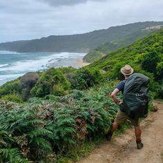 Even the ominous rain cloud couldn't stop us on the #GreatOceanWalk. . . . #seeaustralia #exploreaustralia #straya #beach #australiagram #igaustralia #victoria #hiking #hike #takeahike #hikingculture #wilderness #wildernessculture #everytrailconnects #hikelife #getoutside #outdoors #outdoor #getoutstayout #landscape #lanscape_captures #hikingworldwide #wearexplorers #hikingadventures #coast #visitvictoria