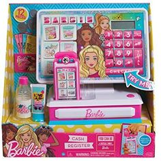 Barbie Cash Register by Mattel, Multicolor Little Girl Toys, Baby Girl Toys, Toys For Girls, Kids Toys, Baby Dolls, Barbie Doll Set, Barbie Toys, American Girl Doll Sets, Disney Princess Toys