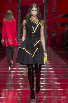 Versace Fashion Show in Milano
