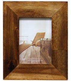 5''x7'' Light Broan Acacia Wood Frame, , hi-res