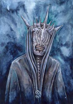 Mouth Of Sauron by Janka Látečková [©2015]