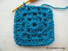 et tuto - Page 22 - Granny mania ! Crochet Diy, Crochet Granny, Crochet Things, Couture, Knitting, Granny Squares, Creative, Crafts, Voici