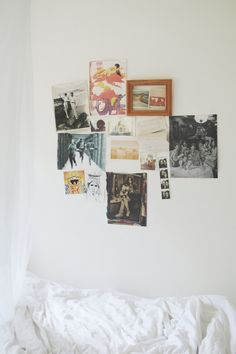 wall art, wall collage, inspiration wall, wall decorations, photo displays