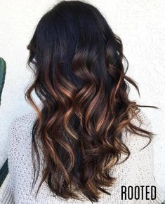 Partial Golden Brown Balayage