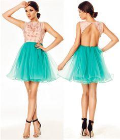 Rochie de ocazie Selena Turquoise