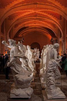 Galerie des sculptures et des moulages, Château de Versailles. Nuit européenne des musées le samedi 16 mai 2015    Flickr - Photo Sharing!