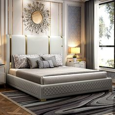 Modern Luxury Bedroom, Luxury Bedroom Furniture, Luxury Bedroom Design, Master Bedroom Interior, Master Bedroom Design, Bed Furniture, Luxurious Bedrooms, Luxury Bedrooms, Modern Bedroom Sets