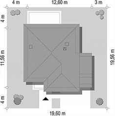 Usytuowanie projektu Tytan 4 na działce House Plans, How To Plan, Home Decor, Outdoors, Board, Two Story Houses, Ceilings, Tiny Houses, Architecture