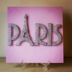 Paris String Art