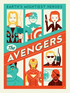 Avengers /by Montygog #deviantart #digital #art