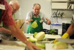 'Food bank for the world'; Volunteers use donated produce to make a soup mix for hungry people in other lands