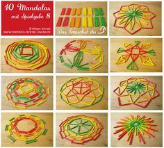 10 simple mandala templates for kids - Kinderbetreuung Early Childhood Activities, Sunday School Activities, Montessori Activities, Infant Activities, Yoga For Kids, Art For Kids, Early Years Classroom, Kindergarten Design, Simple Mandala