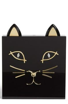 Charlotte Olympia 'Kitty' Clutch available at #Nordstrom
