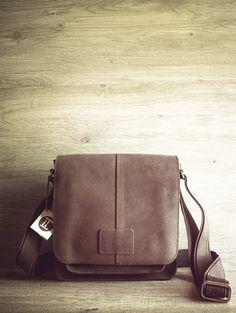 Mens Bag. Saddleback lifetime leather shoulder by TropaeisLeather