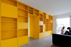 Yellow Apartment Renovation / Pedro Varela & Renata Pinho Yellow Apartment Renovation / Pedro Varela & Renata Pinho (42) – ArchDaily