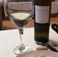 Copa de #vino blanco Los Navales 2014