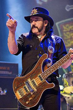 Today we lost a rock icon and legend. We're so thankful that Lemmy rocked out like the bad ass that he was at House of Blues earlier this year. Thanks for sharing your gift with the world Lemmy! You will be missed. | Photo by Lyle A. Waisman