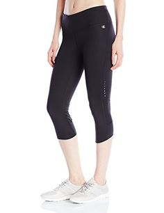 Champion Womens Marathon Knee Tight Black Small >>> Read more by visiting the link on the image.