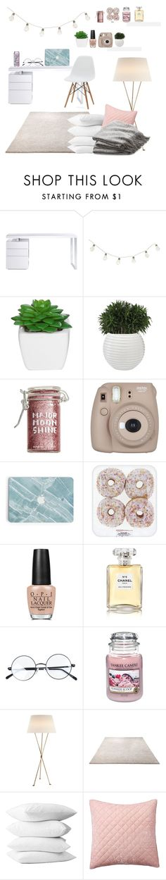 """Untitled #56"" by bahbepbep ❤ liked on Polyvore featuring interior, interiors, interior design, home, home decor, interior decorating, Bellini, Major Moonshine, Fujifilm and OPI"