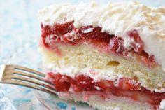 Strawberry Cake from JennyCanCook.com