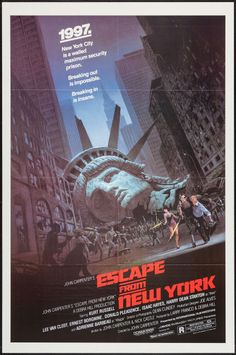"""Movie Posters:Science Fiction, Escape from New York (Avco Embassy, 1981). One Sheet (27"""" X 41"""").Science Fiction.. ... Image #1"""