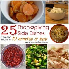 25 Quick and Easy Thanksgiving Side Dishes