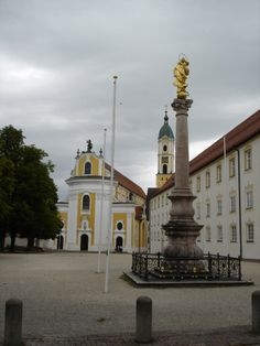 Kloster Ochsenhausen Oberschwaben. Ehemalige reichsabtei, DE