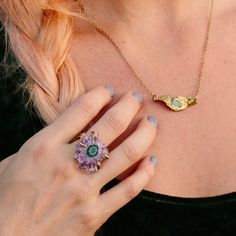 UncommonGoods' vegan-friendly jewelry featured on the Vegan Fashion Blog!