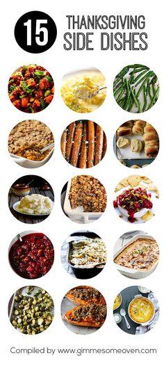 15 Thanksgiving Side Dishes (via Bloglovin.com )