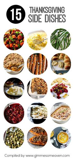 15 Thanksgiving Side Dishes (via Bloglovin.com )