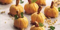 Cheddar Pumpkin Appetizers