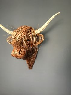 Highland Trophy Head Scottish Highlands, Horror, Lion Sculpture, House Ideas, Statue, Touch, Projects, Art, Search