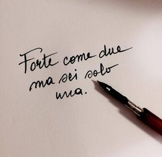Forte come 2 ma sei 1 Italian Phrases, Italian Quotes, Simple Quotes, Love Quotes, Motivational Phrases, Inspirational Quotes, Cool Words, Wise Words, Italian Tattoos