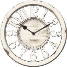 "FirsTime 10"" Antique Contour Wall Clock"