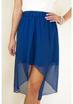 HIGH LOW #skirt + the color <3