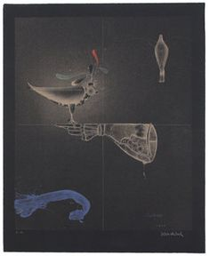 Paul Wunderlich, 'Falkenhandschuh / Falconer's Glove,' 1981, Sylvan Cole Gallery