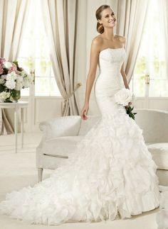 Mi vestido para la sección de fotos! Hermoso! #PandoraNovia #PandoraRD