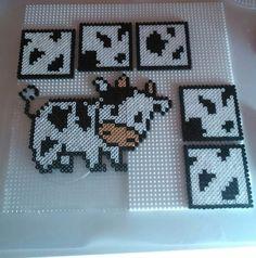 Vaca - Hama Beads